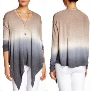Young Fabulous & Broke Gabby Ombre Knit Top NWOT